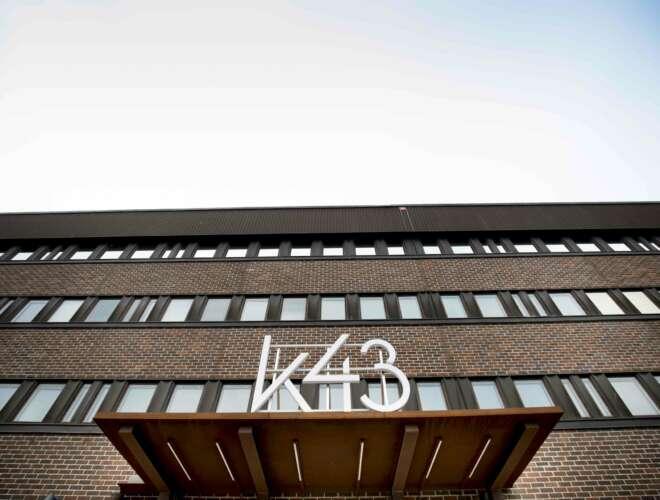 K 43 I Eskilstuna. Slutbesiktning Uppdrag åt Byggnor